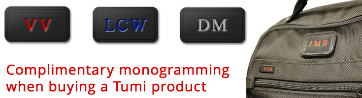 launching the tumi monogramming service at caseluggage com
