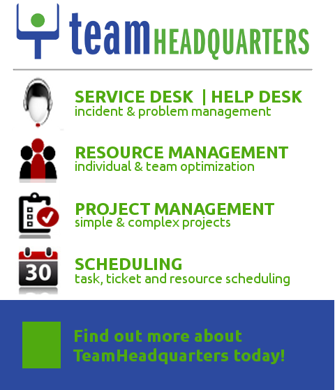 Teamheadquarters Project Management Amp Service Desk