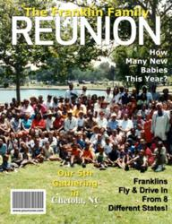 Personalized Family Reunion Magazine Cover from YourCover