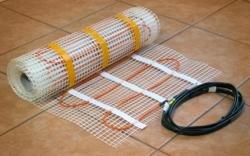 InfraFloor floor heating mat for warm tile floors