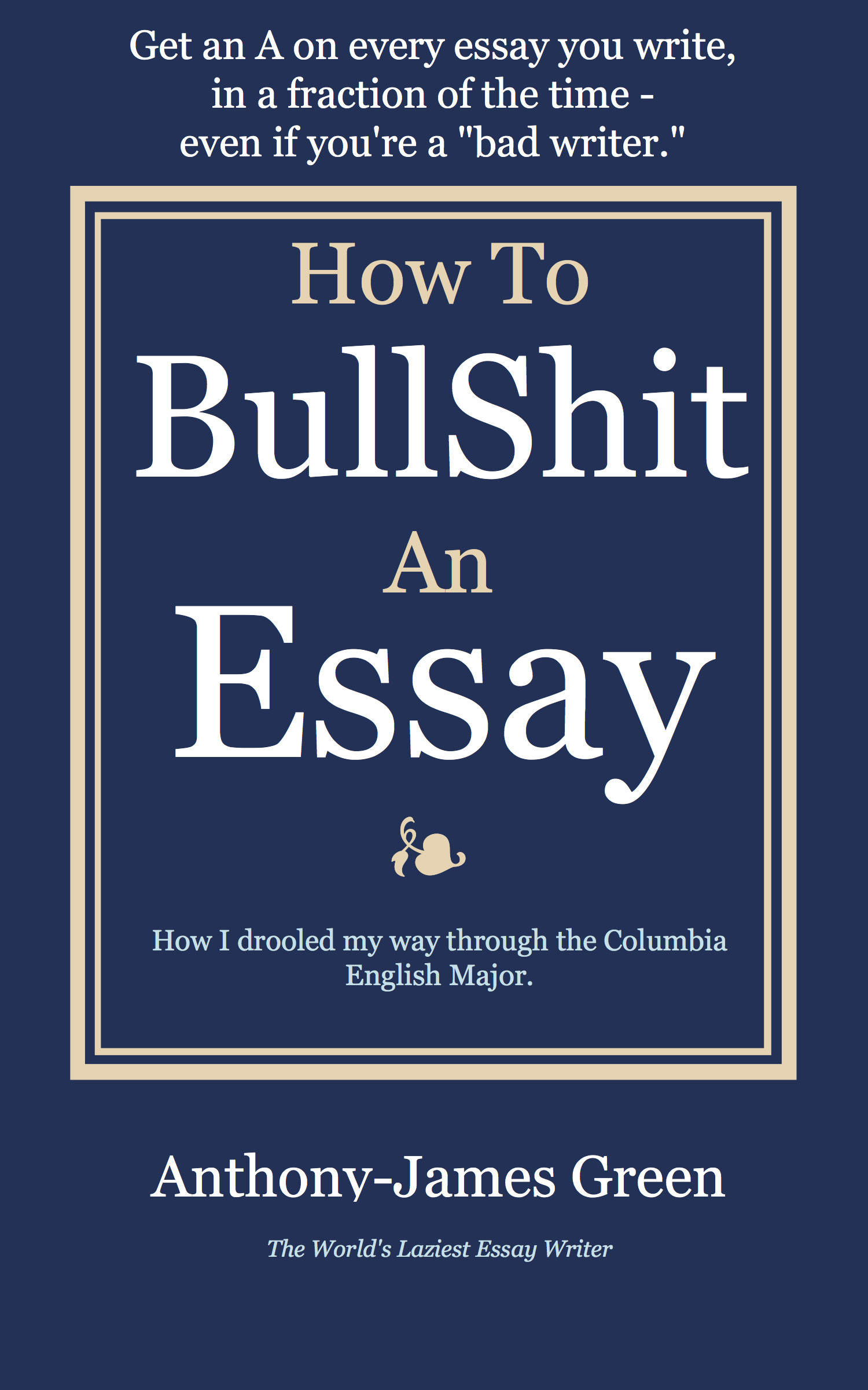 on bullshit essay On bullshit - kindle edition by harry g frankfurt download it once and read it on your kindle device, pc, phones or tablets  a short, philosophical essay on a.