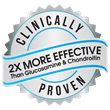 2X More Effective Than Glucosamine & Chondroitin