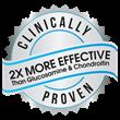 2X More Effective Than Glucosamine & Chondroitin