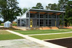 Super-Sod's new Green Office and Irrigation Demonstraton Gardens