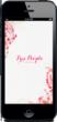 Free People App - Start Screen