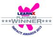 G-Cube Wins Platinum Trophy in LearnX Impact Award 2013 for Best...
