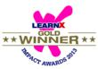 G-Cube wins the LearnX Impact Award - 2013 Gold in Best Learning...