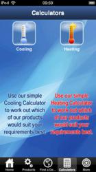 Andrews Sykes app - heating and cooling calculator