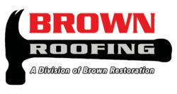 Brown Roofing Kansas City Logo