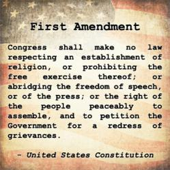 The First Amendment remains crucial to American freedom.