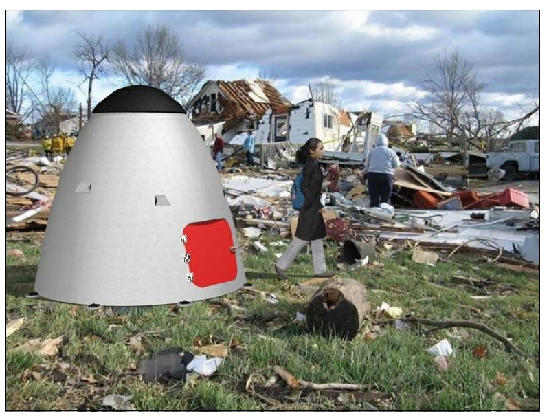 Charmant Saving Lives: A New Breed Of Tornado Storm Shelter