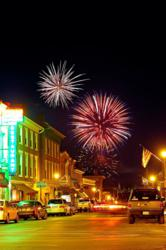 Celebrating the 4th of July in Lexington, Virginia