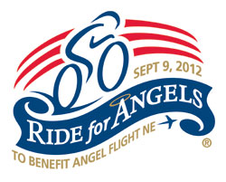 Ride for Angels Logo for Angel Flight Northeast