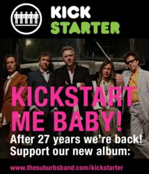 Announcing The Suburbs Kickstarter Campaign