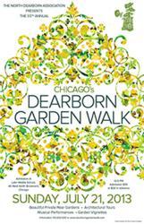 Logo for the Dearborn Garden Walk