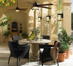 Summer Outdoor Living Begins in the Porch, Patio and Garden