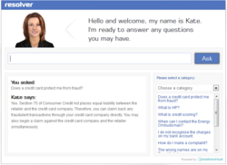 Ask Kate - resolver's Virtual Agent