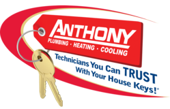Anthony Plumbing, Heating & Cooling Logo Kansas City