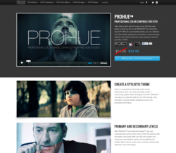 Final Cut Pro X Effects - FCPX Plugins - Pixel Film Studios - PROHUE - Color Correction - Special Effects