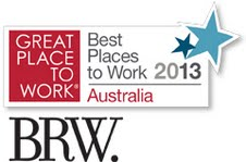 BRW, Great Place to Work, Great Places to Work 2013 Australia
