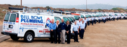 bill howe plumbing has been part of the san diego landscape since 1980