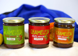 Three Flavors of Chameleon (Original, Chipotle, Red Pepper Lime)