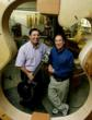 Howard Paul, President/CEO and Bob Benedetto, Chairman, of Benedetto Guitars, Inc., Savannah, Georgia. Photo by Chris Massa