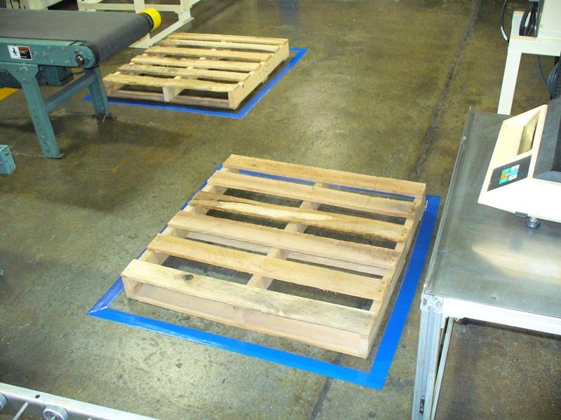 Floor Marking Standards : 5S Tape Floor Marking Standards