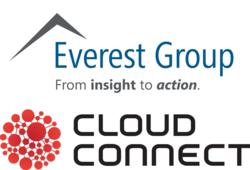 Everest Group Cloud Connect logos