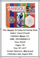 "Basic information on ""Rangoli: An Indian Art Activity Book"""