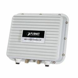 Planet's WNAP-6350 2.4 GHz outdoor wireless access point with a very high data rate and adjustable power output
