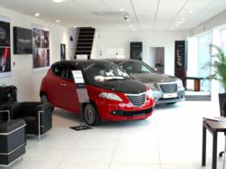 New Car Showroom for Chrysler and Jeep