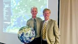 Dr. Kevin Montgomery and Patrick Hogan at INSPIRE 2013
