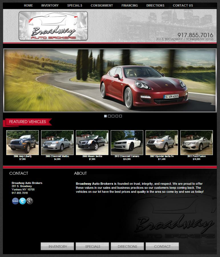Broadway Auto Brokers In Yonkers New York Partners With