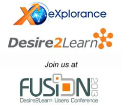 Desire2Learn and eXplorance integrate provide customers with course evaluation system