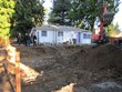 Maple Leaf Passivhaus lot before foundation is poured