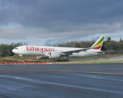 Boeing long-range aircraft operated by Ethiopian Airlines