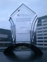 WebMechanix | Howard Tech Council Superstar of the Year