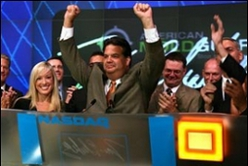 Closing the NASDAQ. Tom Blakeley, President, Blackwood Productions Inc.