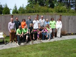 Ikea & Wesley Homes Lea Hill volunteer group