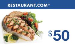 $50 Gift Card from Restaurant.com