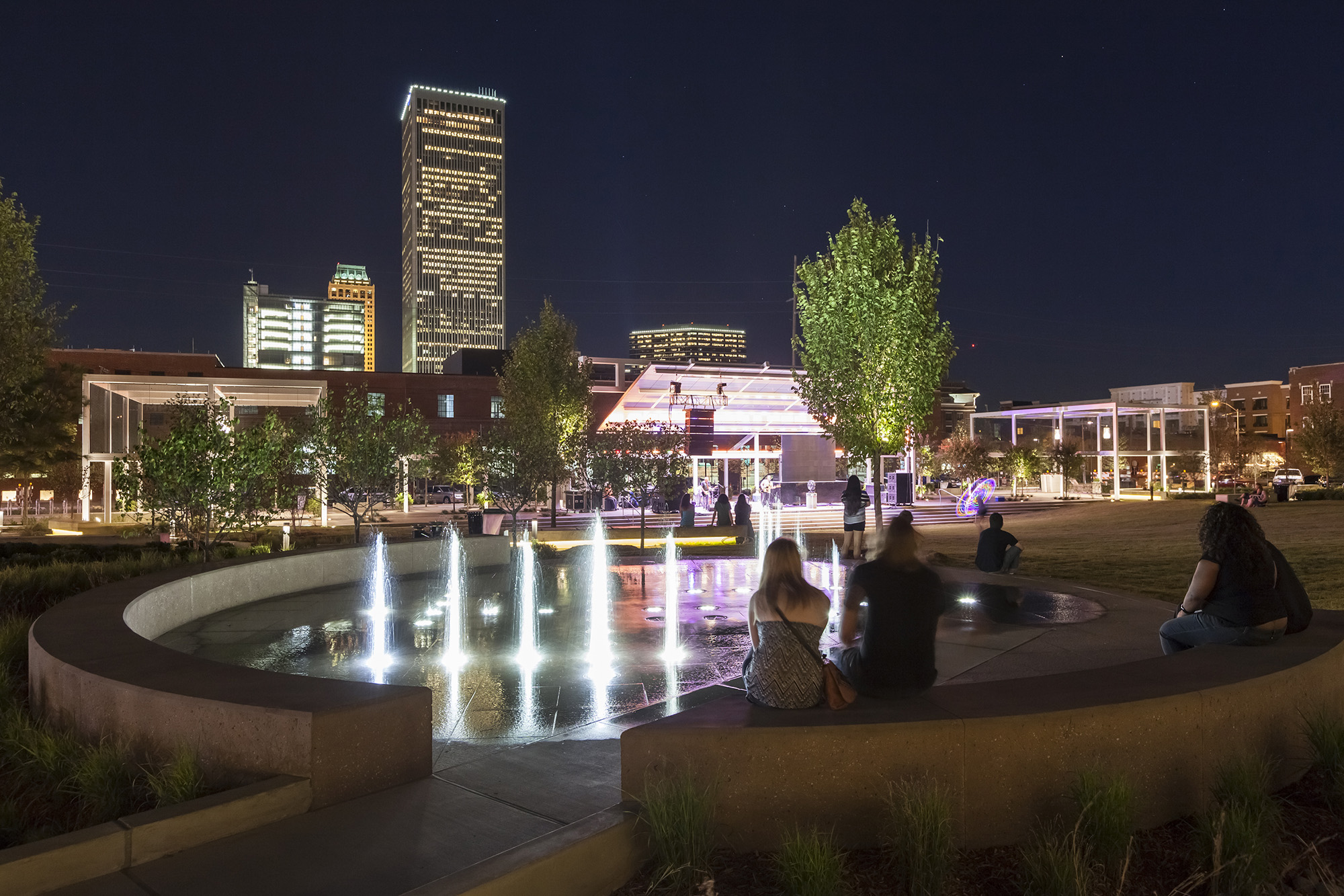Elizabeth Truck Center >> Crystal Collaborates on Water Features at New Guthrie Green, Solar and Geo-thermal Park in Oklahoma