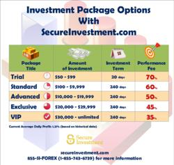 Investment Package Options