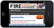 FIRE Manager - Mobile Web App