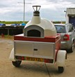 Pizza on Wheels, The Stone Bake Oven Company Launch Their Range Of Mobile Wood Fired Ovens