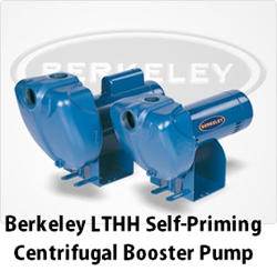 Berkeley LTHH Self-Priming Centrifugal Booster Pump