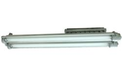 Low Profile High Output Explosion Proof Fluorescent Light Fixture