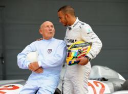 Lewis Hamilton Sterlin Moss