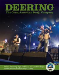 Deering Banjos catalogue with Mumford & Sons