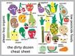 17 cheat foodsChart